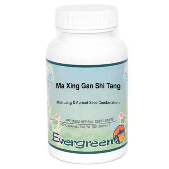 Picture of Ma Xing Gan Shi Tang Evergreen Capsules 100's