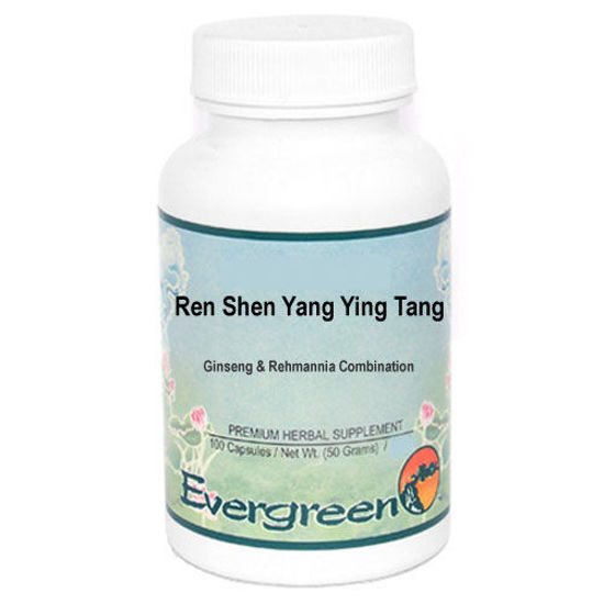 Picture of Ren Shen Yang Ying Tang Evergreen Capsules 100's