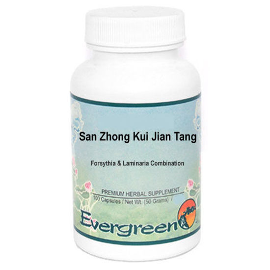 Picture of San Zhong Kui Jian Tang Evergreen Capsules 100's
