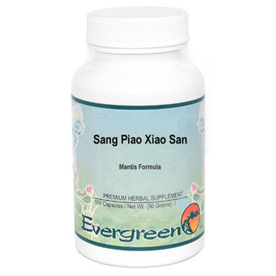 Picture of Sang Piao Xiao San Evergreen Capsules 100's