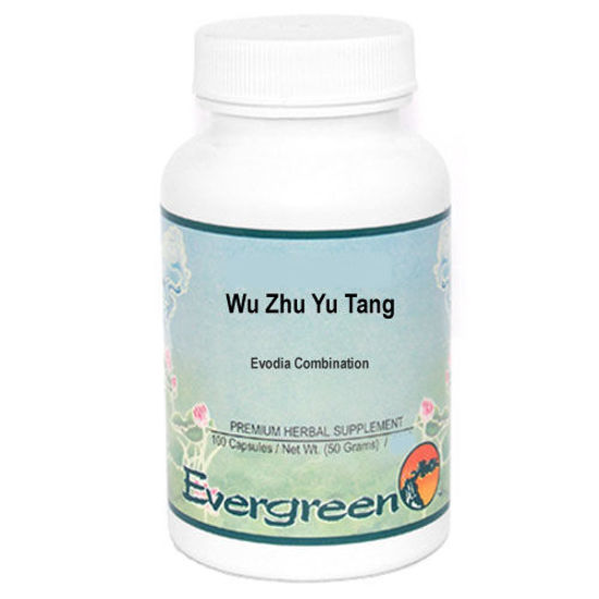 Picture of Wu Zhu Yu Tang Evergreen Capsules 100's