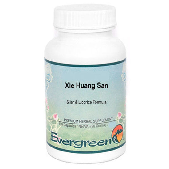 Picture of Xie Huang San Evergreen Capsules 100's