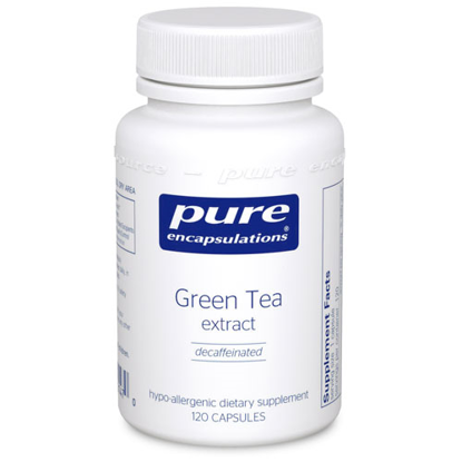 Picture of Green Tea extract (decaffeinated) 120 ct., Pure
