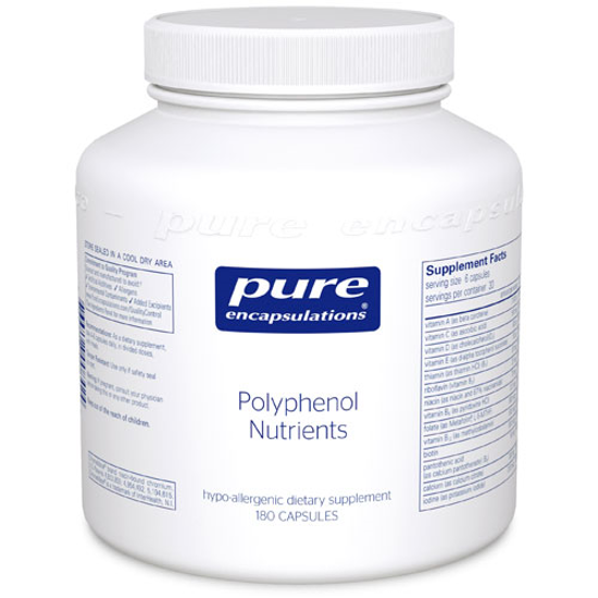 Picture of Polyphenol Nutrients 180's, Pure Encapsulations