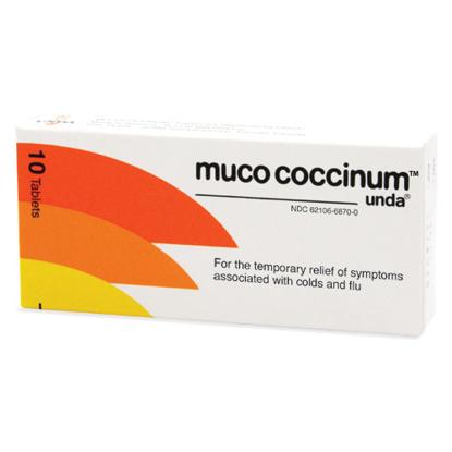 Picture of Muco Coccinum 200 10 Tablets, Unda
