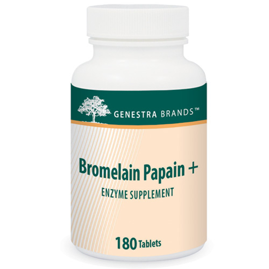Picture of Bromelain Papain + 180 Tablets, Genestra
