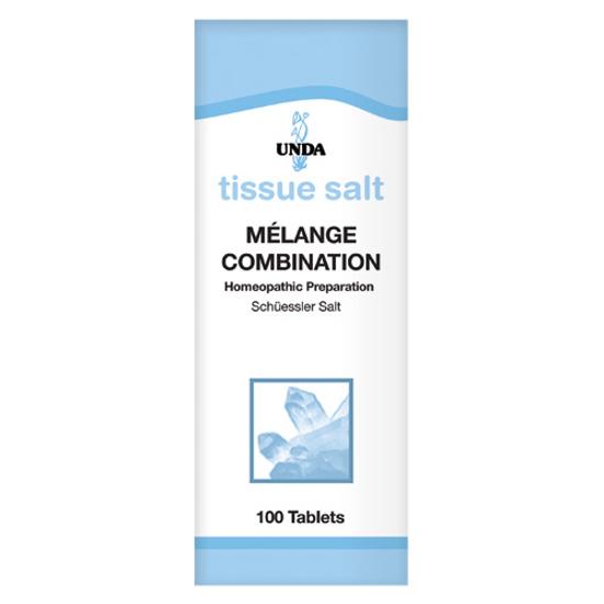 Picture of Melange Tissue Salt 100 Tabs, Unda