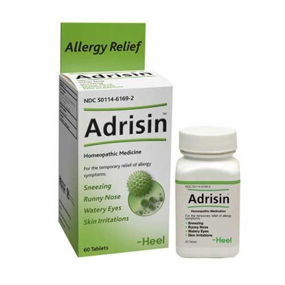 Picture of Adrisin Tablets Heel 100's