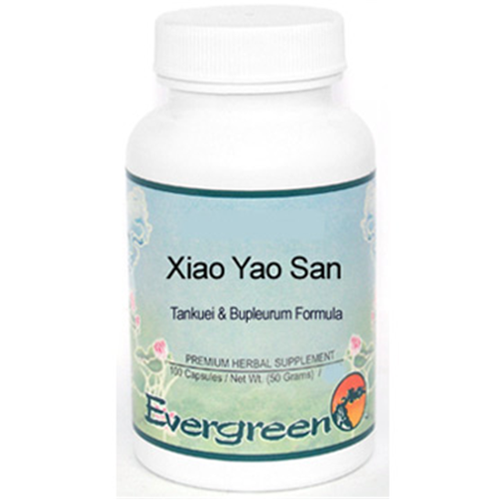 Picture of Xiao Yao San Evergreen Capsules 100's