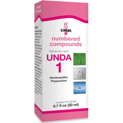 Picture of Numbered Compound #1 (20ml), Unda