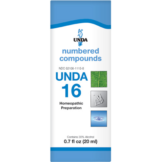 Picture of Numbered Compound #16 (20ml), Unda