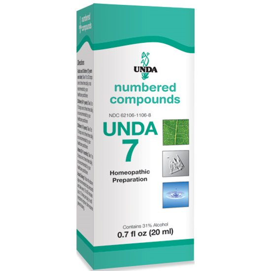Picture of Numbered Compound #7 (20ml), Unda