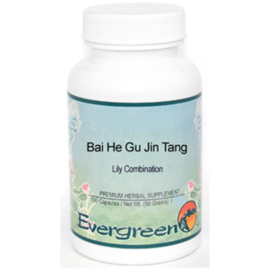 Picture of Bai He Gu Jin Tang Evergreen Capsules 100's
