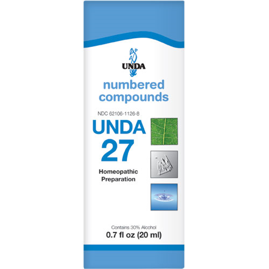 Picture of Numbered Compound #27 (20ml), Unda