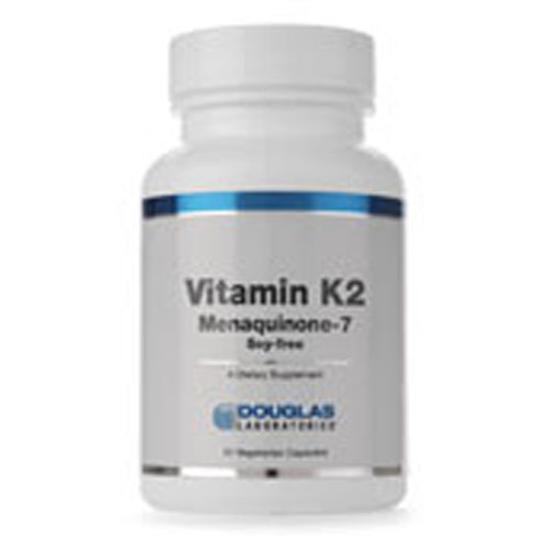 Picture of Vitamin K2 60 Caps by Douglas Laboratories