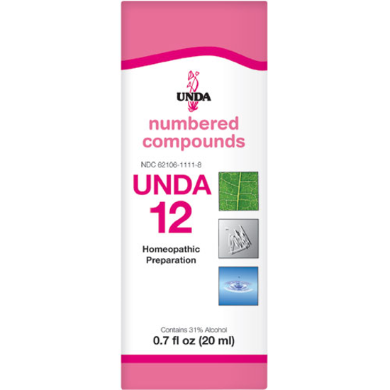 Picture of Numbered Compound #12 (20ml), Unda