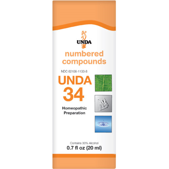 Picture of Numbered Compound #34 (20ml), Unda