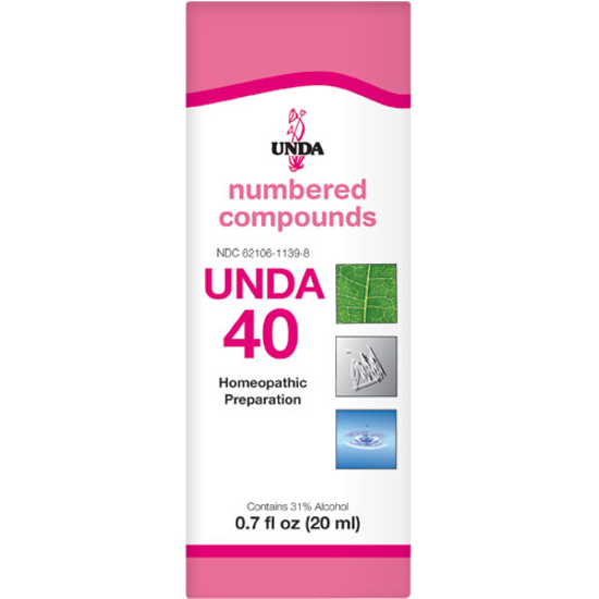 Picture of Numbered Compound #40 (20ml), Unda