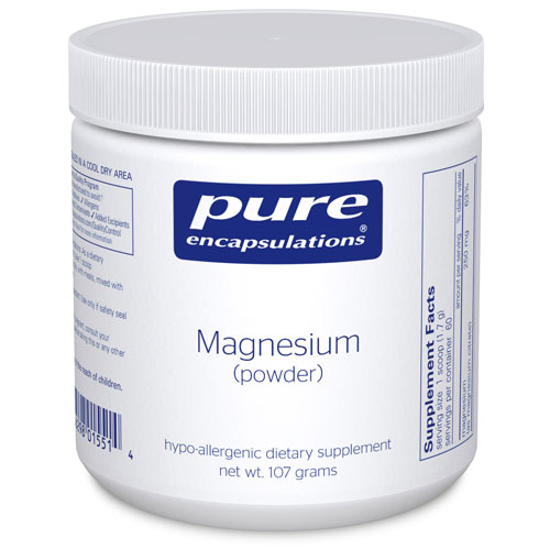 Picture of Magnesium Powder 107g, Pure Encapsulations