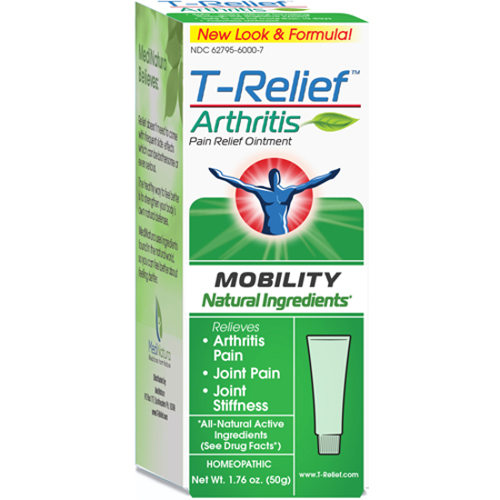 Picture of T-Relief Arthritis Ointment 50g by MediNatura