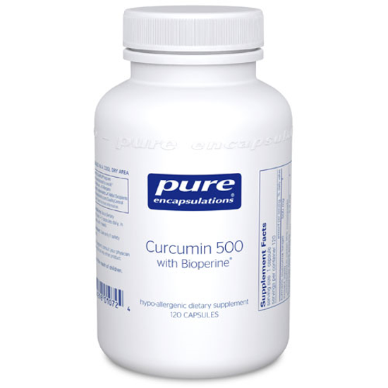 Picture of Curcumin 500 w/ Bioperine by Pure Encapsulations