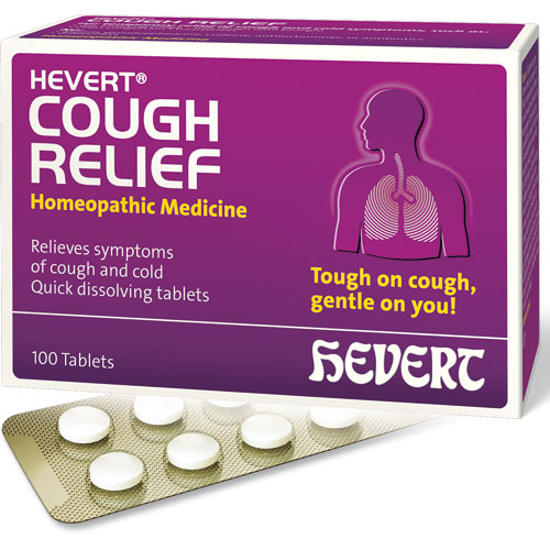 Picture of Cough Relief 100 tabs, Hevert Pharmaceuticals