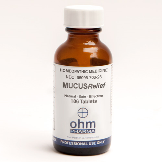 Picture of Mucus Relief 186 tabs, Ohm Pharma