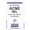 Picture of Acne Gel 1.75 oz. pump, Ohm Pharma