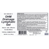 Picture of Drainage Lymphatic Gel 3.5 oz. pump, Ohm Pharma
