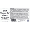 Picture of Venous Aid Cream 3.4 oz. pump, Ohm Pharma