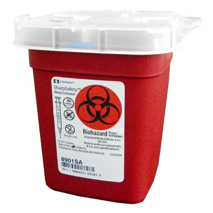 Picture of Sharps (1) Pint Needle Disposal Container