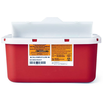 Picture of Sharps (1) Gallon Needle Disposal Container