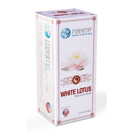 Picture of White Lotus Oil 0.5 oz. (15ml) by Mahima