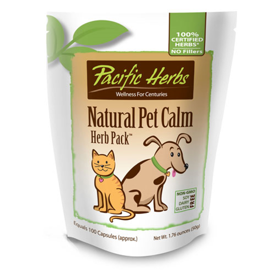 Picture of Natural Pet Calm Herb Pack by Pacific Herbs
