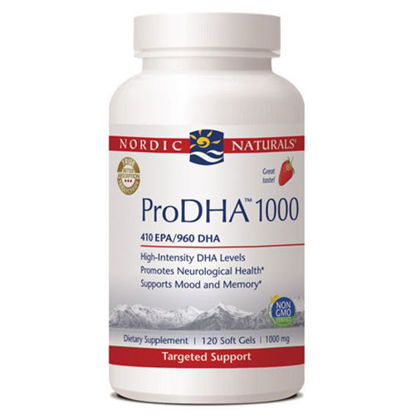 Picture of Nordic Pro DHA 1000 Strawberry 120ct