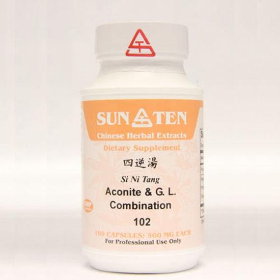 Picture of Si Ni Tang Sun Ten Capsules 100's