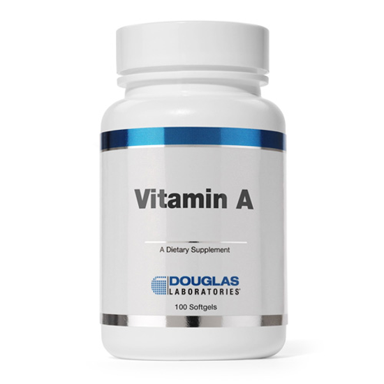 Picture of Vitamin A 10,000 i.u. 100 Softgels by Douglas Laboratories