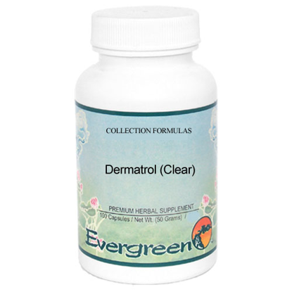 Picture of Dermatrol (Clear) - Evergreen Caps 100ct