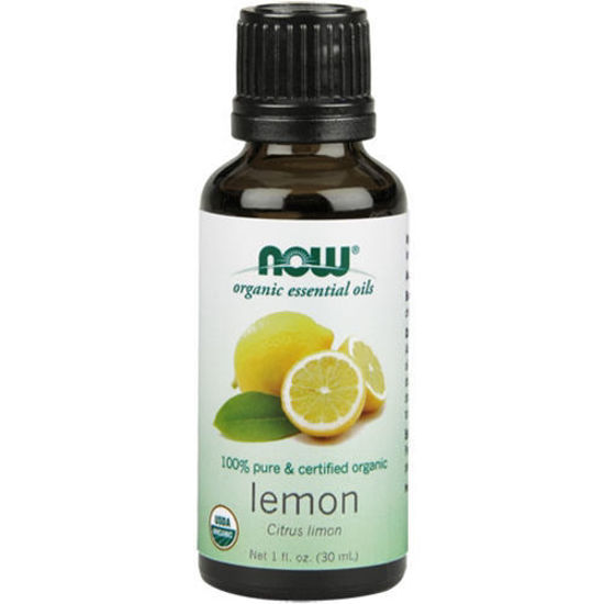 Picture of Organic Lemon Essential Oil 1oz. by NOW Foods