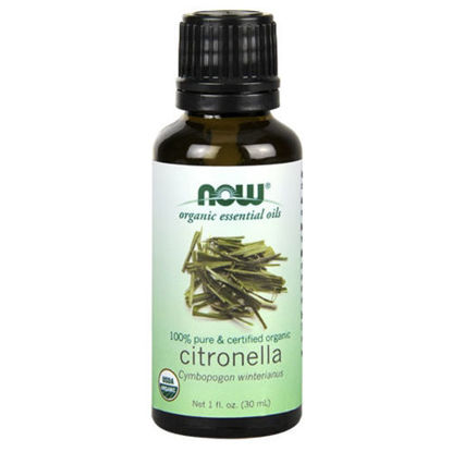 Picture of Organic Citronella Essential Oil 1oz. by NOW Foods