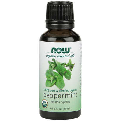 Picture of Organic Peppermint Essential Oil 1oz. by NOW Foods