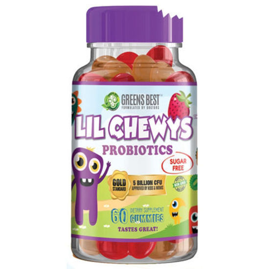 Picture of Lil Chewys Probiotic 60's by Greens Best