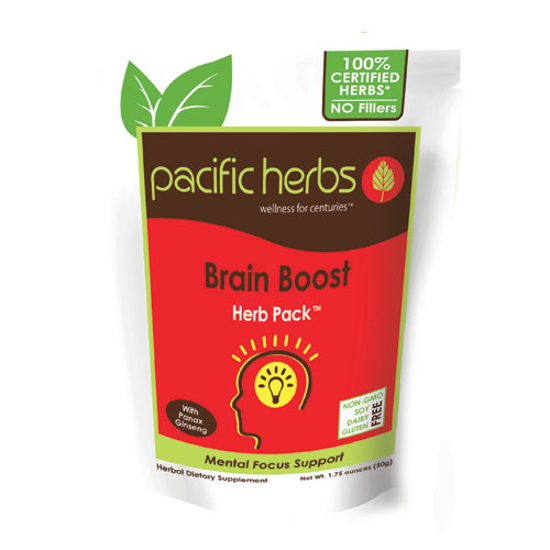 Picture of Brain Boost Herb Pack by Pacific Herbs