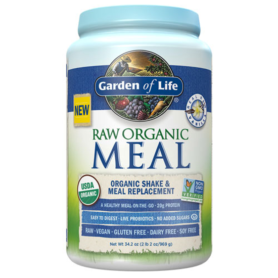 Picture of Raw Organic Meal (Vanilla) 969g by Garden of Life