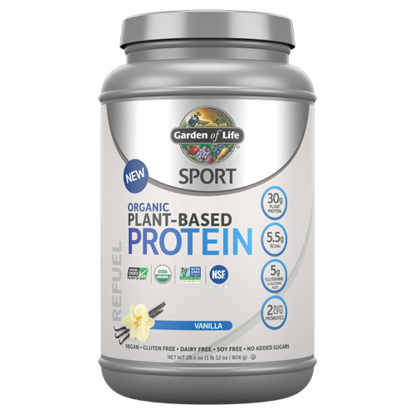 Picture of Sport Organic Protein (Vanilla) 806g by Garden of Life