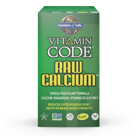 Picture of Vitamin Code Raw Calcium 120 Caps by Garden of Life