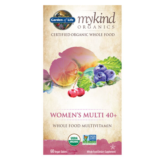 Picture of mykind Organics Women 40+ (60) Tabs by Garden of Life