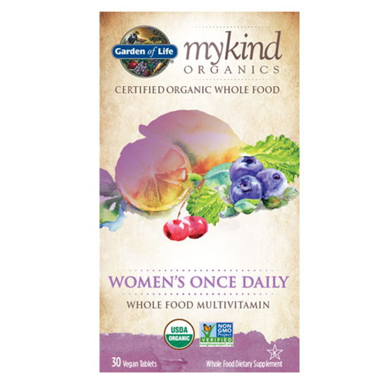 Picture of mykind Organics Women Once Daily 30 Tabs by Garden of Life