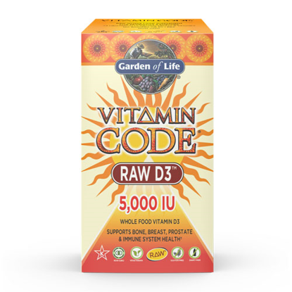 Picture of Vitamin Code Raw D3 (5000) 60 Caps by Garden of Life