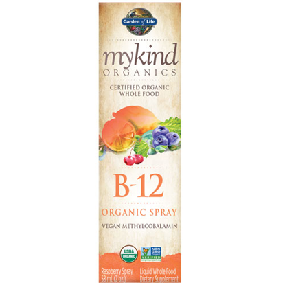 Picture of B12 mykind Organics Spray 2 oz. by Garden of Life